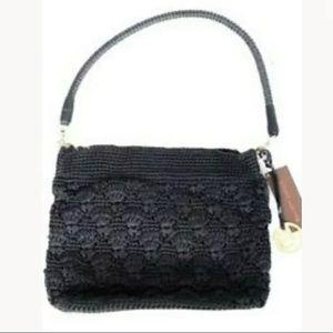 Elliot Lucca Shoulderbag Handbag Crochet Black